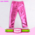 2018 Fashion Design Kids Girls Bright Color Red Sequins Pants Sparkle Baby Girls Sequin Pants