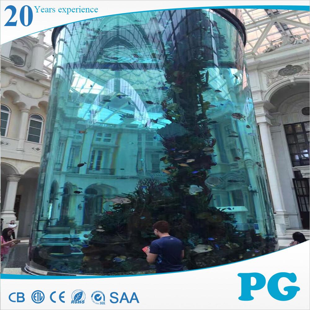 PG Best Selling Grote Acryl Aquarium Aquarium Wanddecoraties