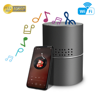 New fashion hidden camera Wireless Stereo Bluetooth Music Speaker remote control wifi portable video spy camera