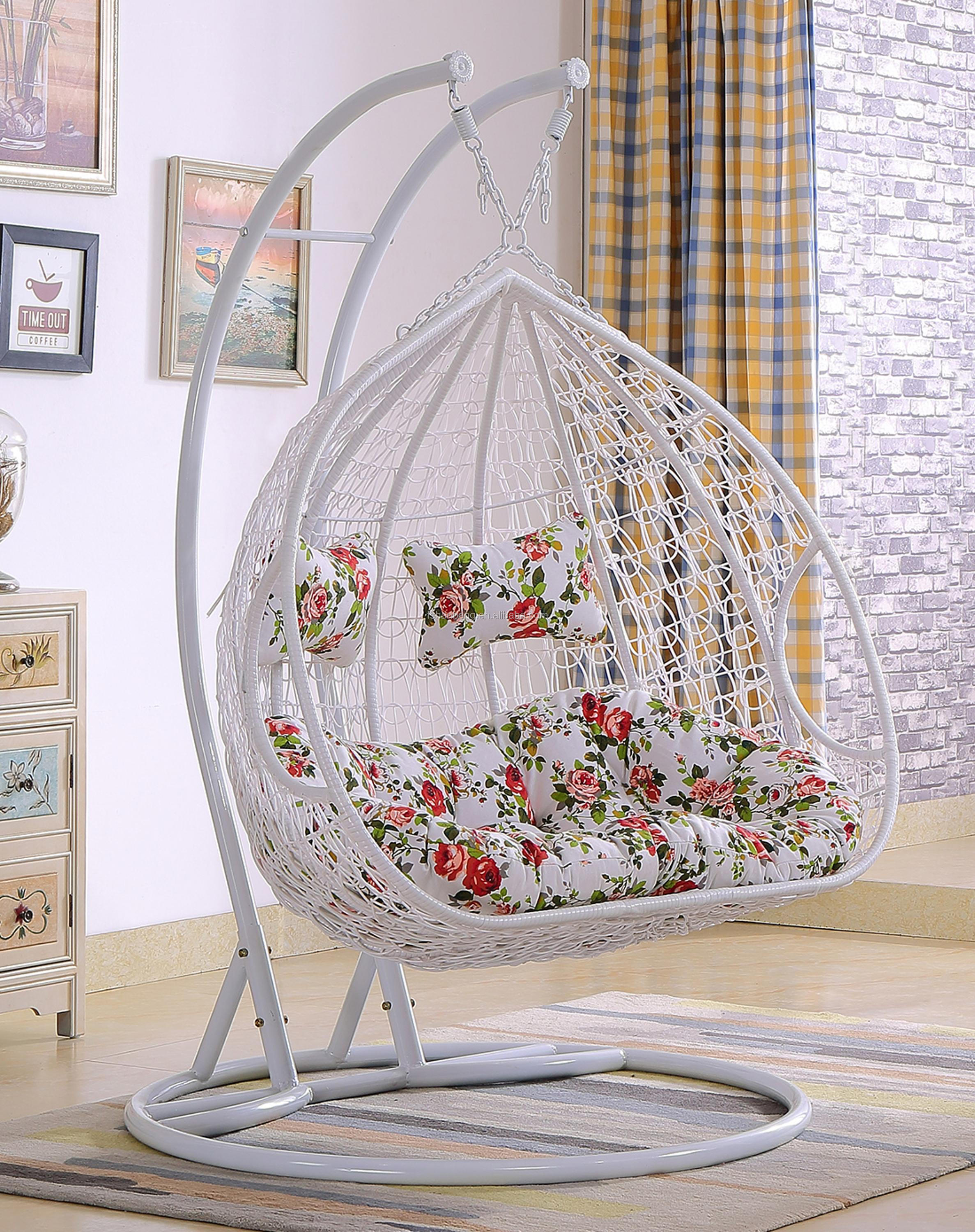 Luxury Outdoor 2 Person Garden Patio Swing Hanging Chair View Hanging Chair Love Rattan Product Details From Foshan Hanbang Furniture Co Ltd On Alibaba Com