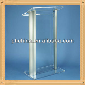 An-c357 Factory Sell High Transparent Acrylic Lectern Podium/Aluminum Podium/Truss Podium