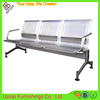 (SP-SC285) Wholesale 3-seater waiting bench seat stainless steel gang chair