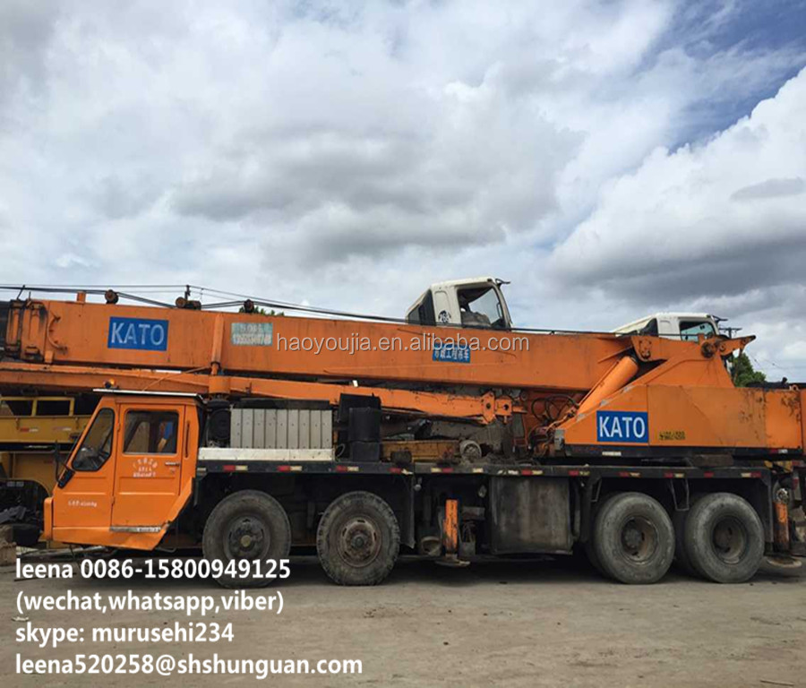 Japan Made Used 45ton Kato Mobile Cranes - Buy Japanese Made Kato 45 Ton  Mobile Crane,Used Kato Nk-450 Crane Price,Cheap Kato Cranes For Sale In