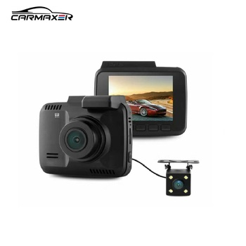 Dual camera dvr 2.4inch GPS & wifi 4k car camera