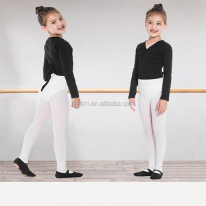 Self tie children Long Sleeve Dance wrap top