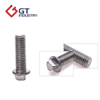 Customized SS304/SS316 triangle washer head bolt