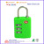 Top security resettable TSA padlock