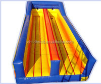 cheap inflatable bungee run indoor children entertainment equipment, colorful inflatable games