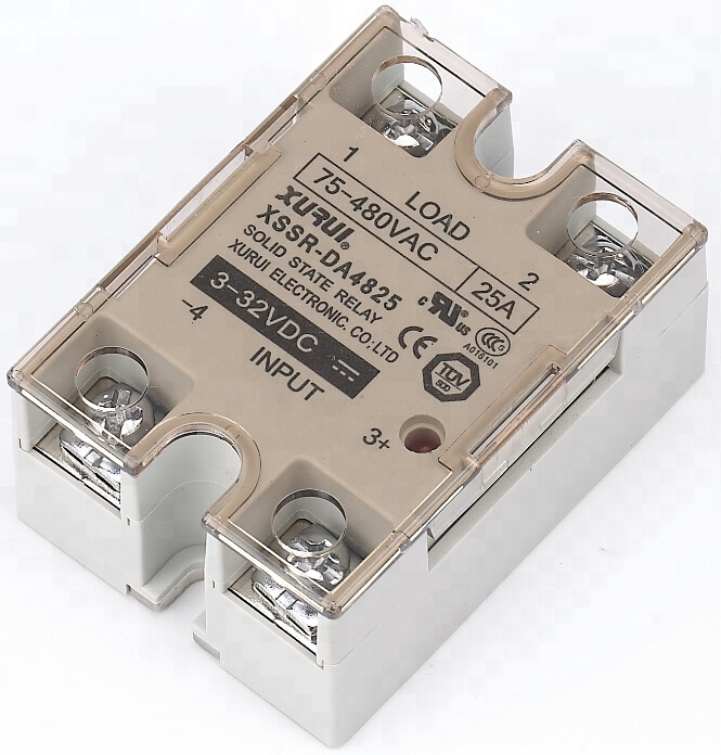 Din rail mount ssr with heat sink ,Solid state overload relays 5A-100A output current