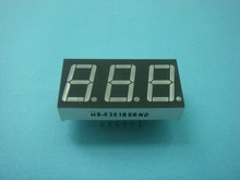 Factory price 3 digits 0.56 inch amber led 7segment display