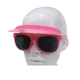 PC cheap promotion CAP sun glasses Flip up sunglasses