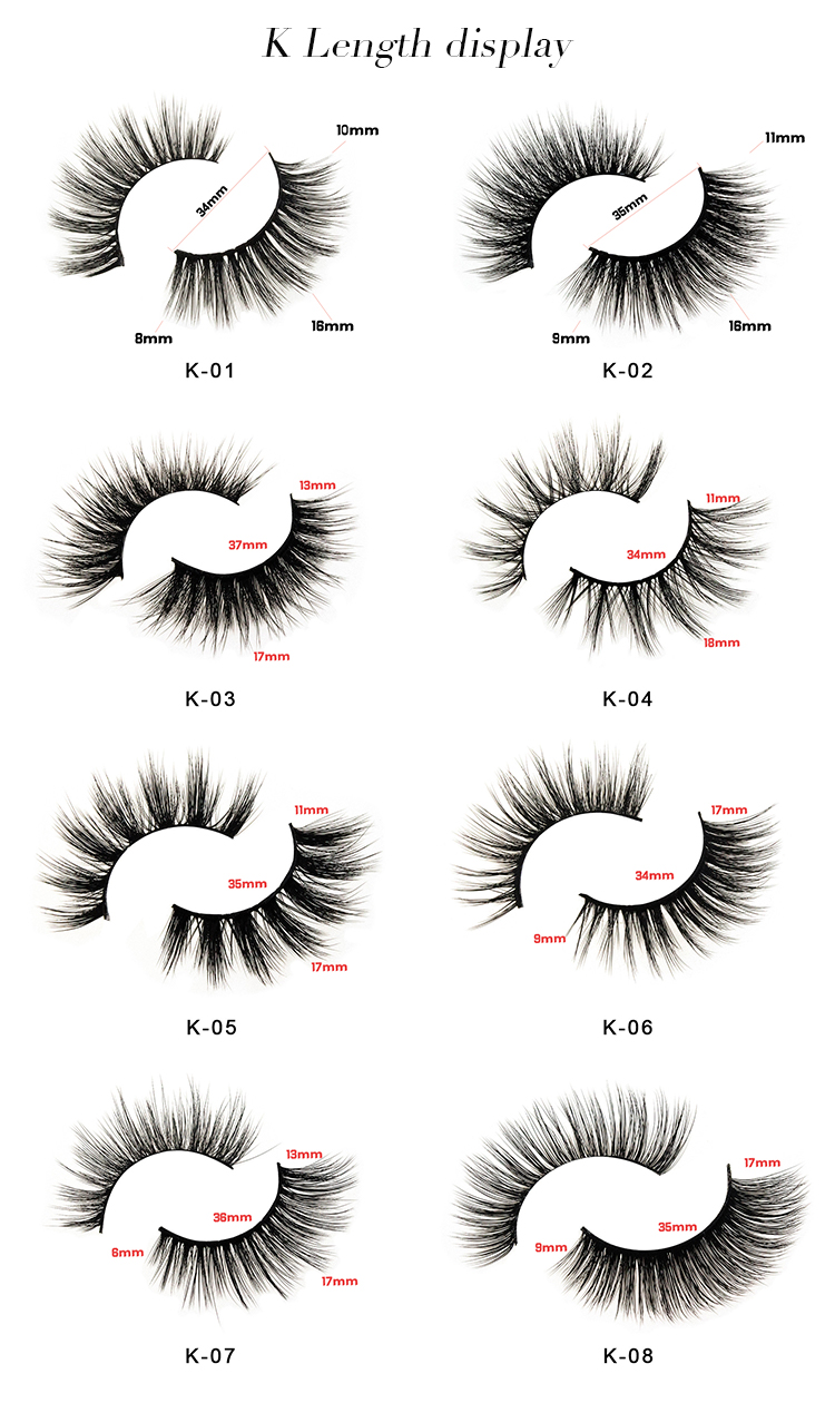 Create your own brand 3d mink eyelashes false silk synthetic eye lashes private label custom packaging box faux 3d mink lashes