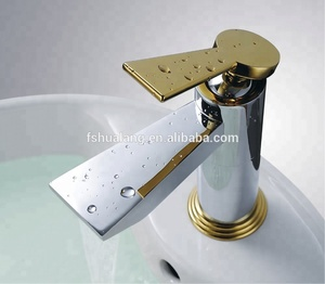 Desk Mounted Fancy Bathroom Sink Faucet A-106