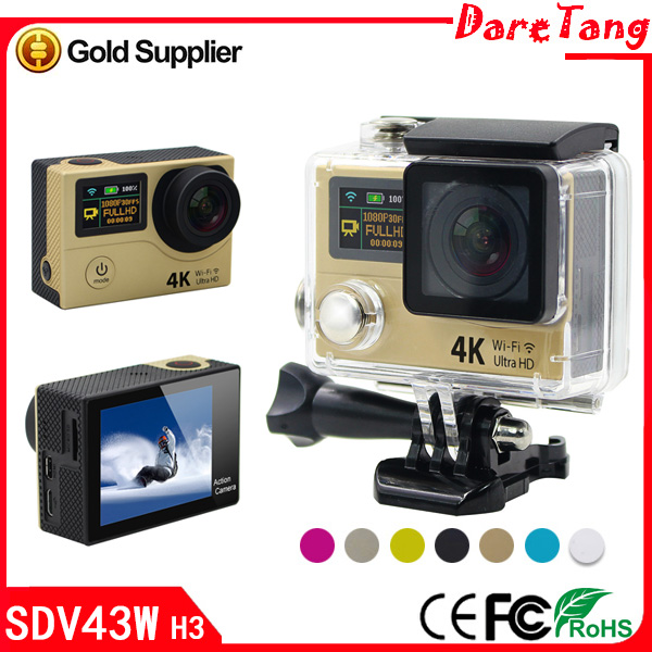 sport camera wifi manufacturer water Super Highest Quality Sport Camera Double Screen shot Video and Sport cam High Level Record