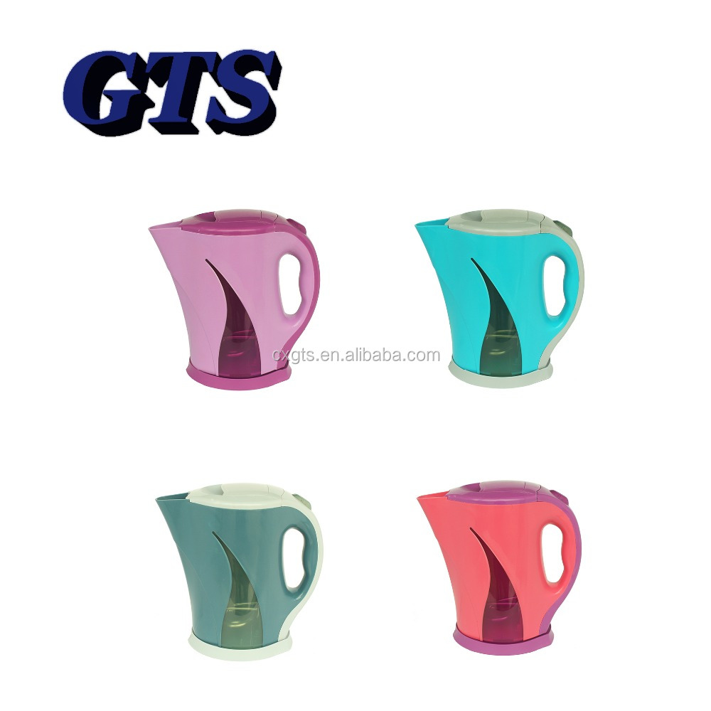 1.8L P008 multicolor cordless plastic electric kettles for chile