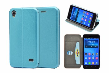 360 Protective full curved Slim Wallet Case for Huawei Honor 4