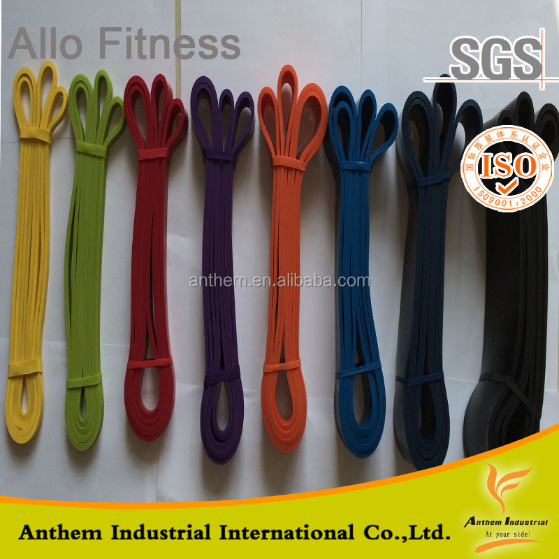 Factory Price Natural Dipped Latex Resistance bands Wholesale