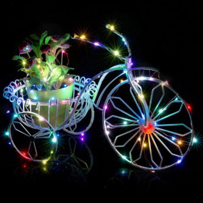 Bicycle Christmas C9 Led String