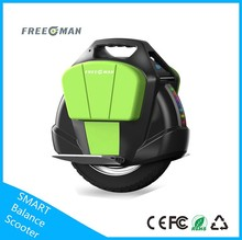 Freeman New Products 2016 Flash LED Light electric one wheel Self Balancing Electric Unicycle Scooter adult electric motorcycle