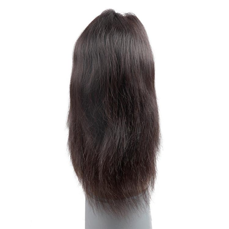Купить со скидкой LSY Factory Wholesale Price High Density Virgin Brazilian Human Hair 100  Full lace Wigs