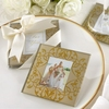 Wholesale 2016 blank white wedding glass coaster glass coaster with photo insert