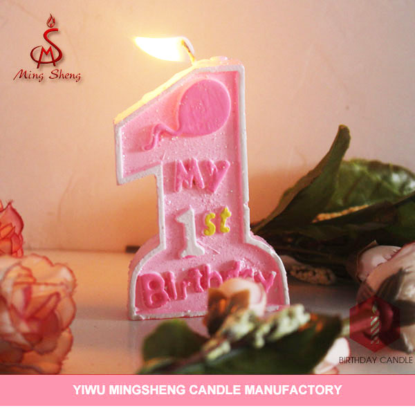 wholesale kids unusual 1st birthday cake candle