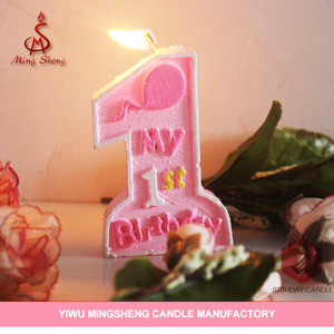 1st Birthday Candle Number Suppliers And Manufacturers At Alibaba