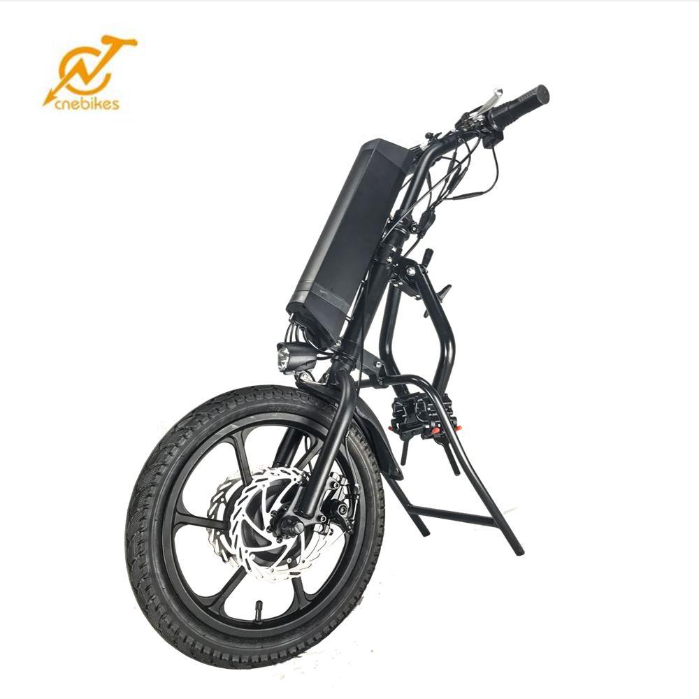2019 hot sale 16inch 36v 350w wheelchair bike attachment wheelchair electric handcycle handbike