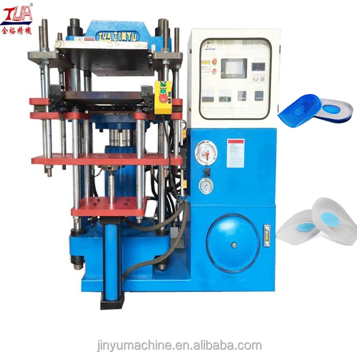 hot pressing Silicone rubber heel pad making machine