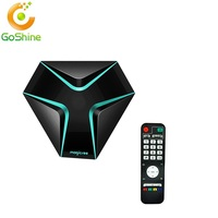 New Arrived Magicsee Iron Android 6.0 TV Box Amlogic S905x DDR3 2GB+8GB Wifi Smart TV Box KD Player 17.3 Set Top Box