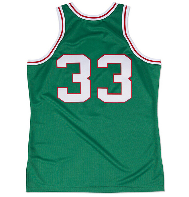 b84f7196e6b3 Get Quotations · Free Shipping  33 Kareem Abdul Jabbar 1970-1971 Green  Throwback Basketball Jersey