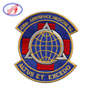 High Quanlity Custom Full Embroidery Patch 436th Aerospace Medicine SQ Altus ET Excedo Patch For Clothing