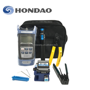 Hondao Fiber Optical FTTH ToolKit/Fiber Power Meter+ Optical Light Source+VFL+Fiber Identifier
