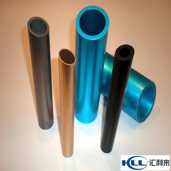 seamless aluminum pipe alloy 2014 2017 5083 7075 cold drawn anodized aluminium pipe