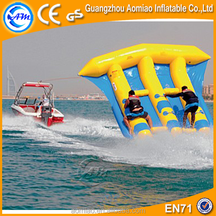 Inflatable Flying Fish Boat towables toys for inflatable water games