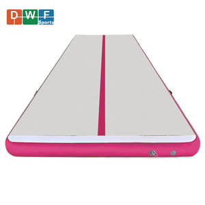Pink Color Home Edition Tumble Air Track Inflatable Gymnastics mat and air floor