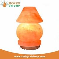 Salt Lamp himalayan salt lamp pyramid dimmer