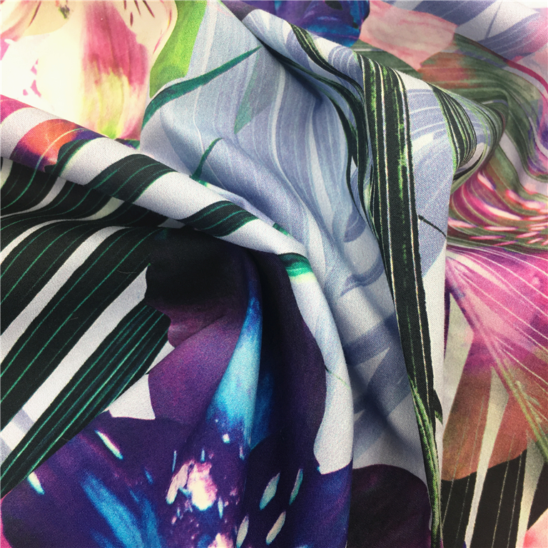 Factory custom design high quality digital printing cotton poplin fabric for shirt