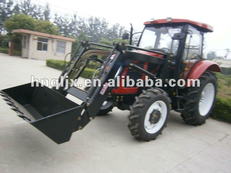 loader and backhoe tractor mounted type farm use