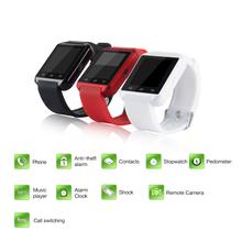 smartwatch android watch Dimensions 40*47*9.9mm MTK6261 waterproof  bluetooth smart watch 2016