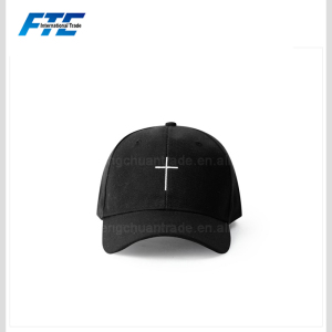 Latin Cross Embroidered Logo Promotional Baseball Cap