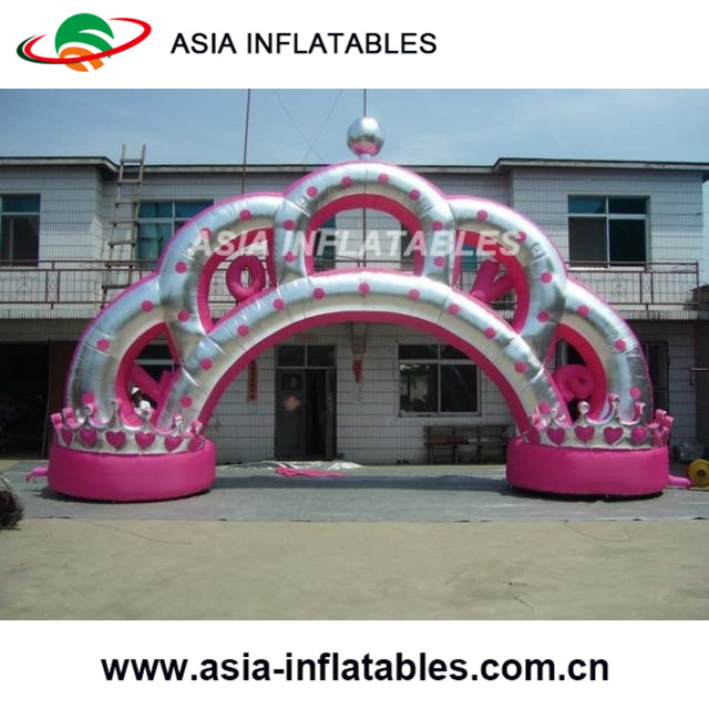 Furniture Accessories Sincere Lighted Inflatable Gate Flowers Chain For Wedding Decoration