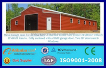 prefabricated steel metal building shed horse barn metal shelter
