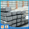 Q235 60*60 MS equal /unequal black & galvanized steel angle bar