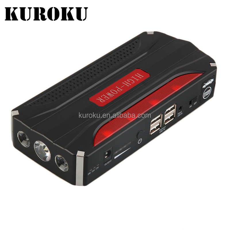 Strong Power Multifunction DC15V 24V Battery Car Jump Starter with Air Compressor