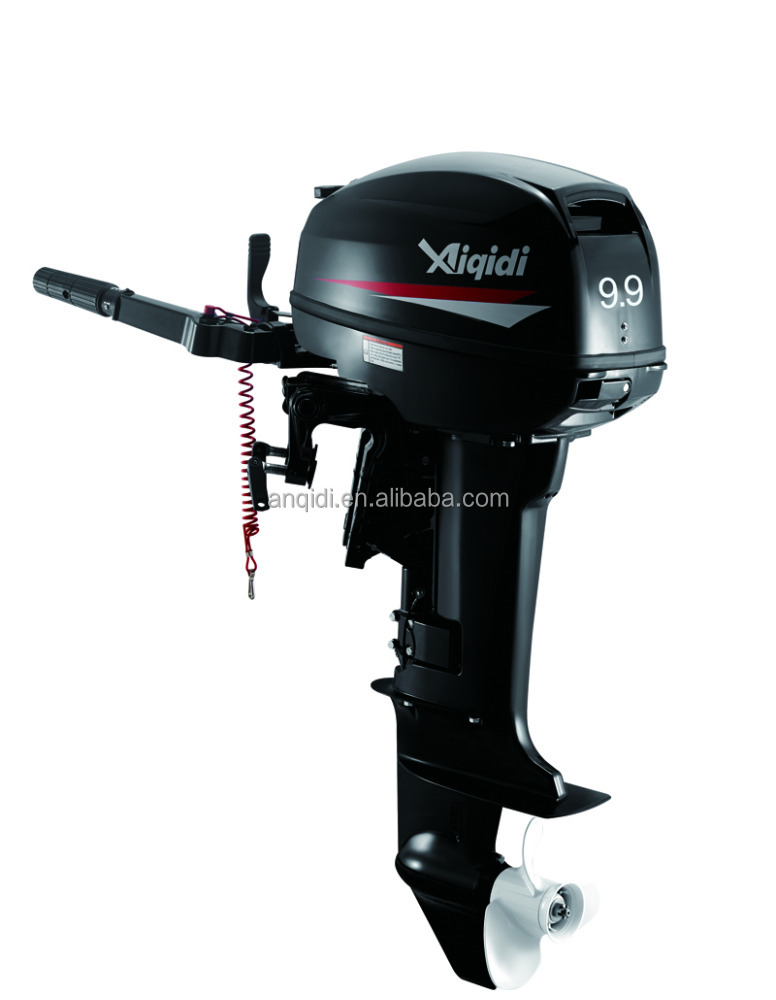 9.9hp 2-stroke outboard engine / tiller control / manual start /long shaft
