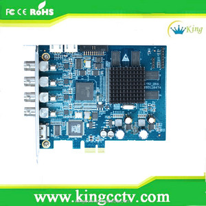 High quality4 Channel HD-SDI Full-HD Cost-effective PCI-E Compression Card