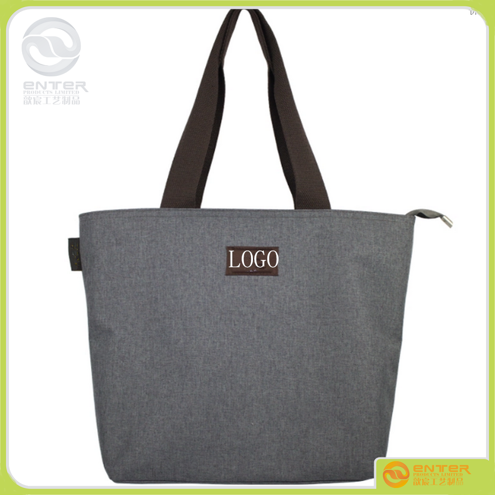 manufacture provide Printed logo made in china Lady handbag , Tote Bags single shouler canvas bag
