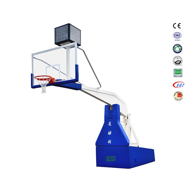 Protective padding electric hydraulic basketball hoop basketball hoop stand