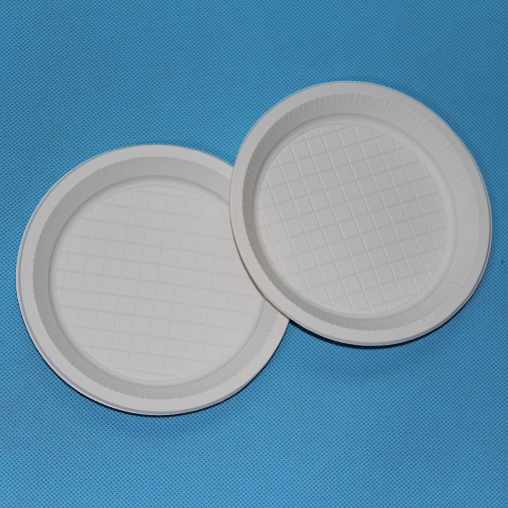 Bio Based Eco Friendly Cornstarch Plastic Plate Disposable Party Plates